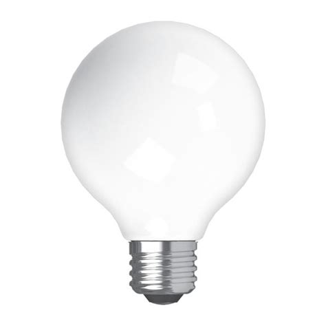 Soft White LED 60W Replacement Frosted Decorative Globe