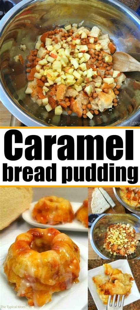 Caramel apple bread pudding recipe is amazing and so easy