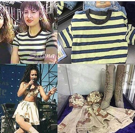 These outfits are currently at the Selena museum | Selena
