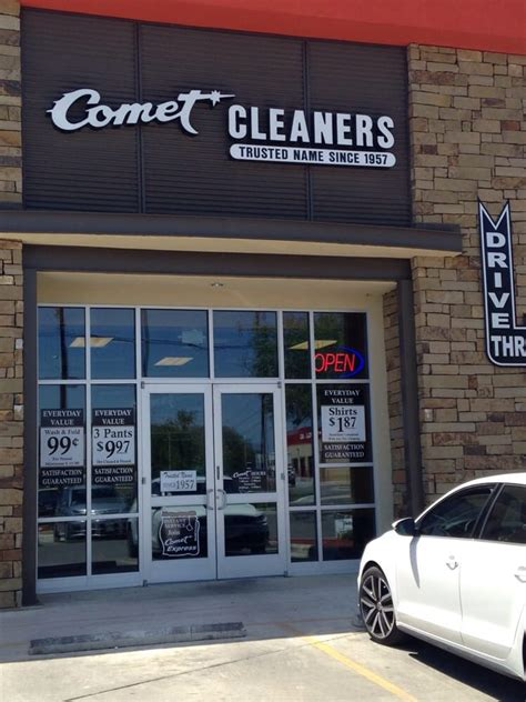 Comet Cleaners - 14 Reviews - Dry Cleaning & Laundry
