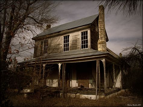 Solitude | This old house was found partially in the woods