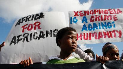 Xenophobic attacks on Africans in South Africa ahead of