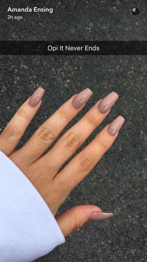 Pin by Charlotte Rose on C L A W S | Coffin shape nails