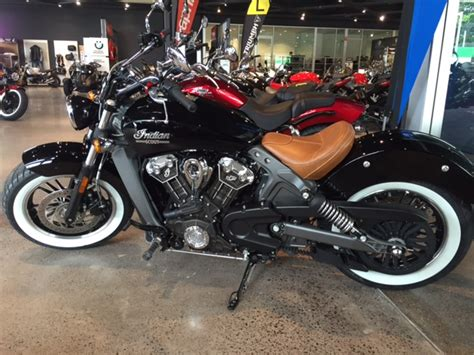 Indian Scout Bobber With Whitewall Tires   Reviewmotors