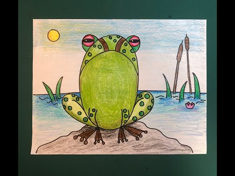 Hop on over and check out this huge list of frog crafts