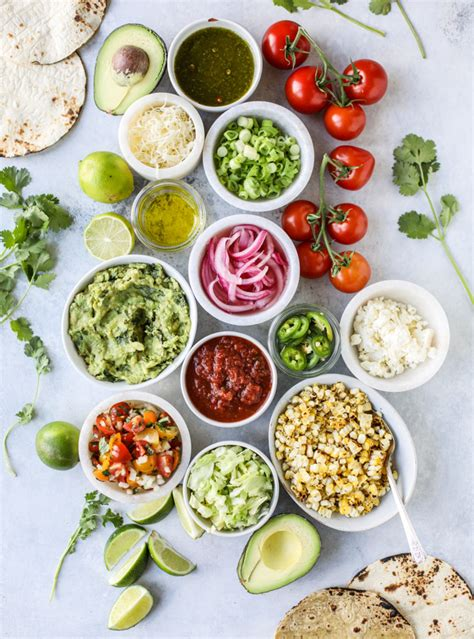 Let's Set Up a Taco Bar for Father's Day! - How Sweet Eats