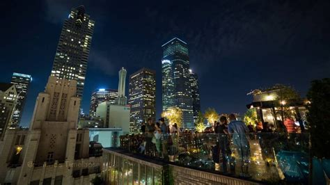 Downtown Los Angeles From Perch LA - 4K Timelapse - YouTube