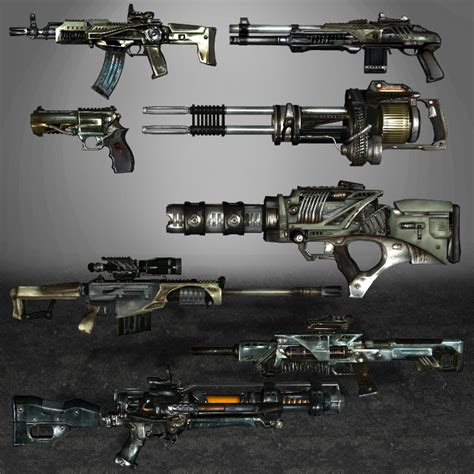 Singularity Weapons by ArmachamCorp on DeviantArt