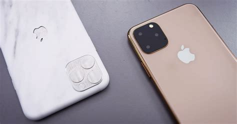 dummy models reveal what the iphone 11 will most likely