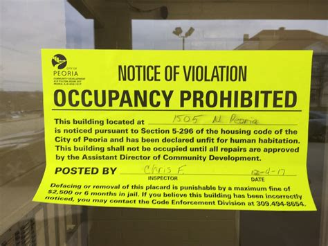 Tenants have 24 hours to vacate Peoria apartment complex