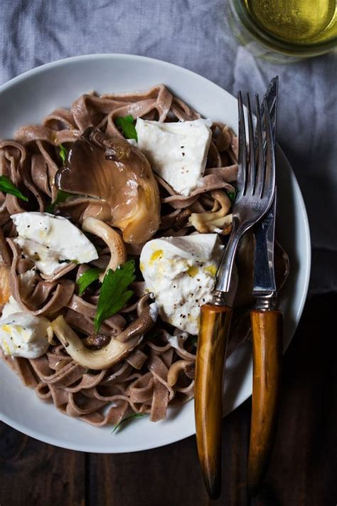 Homemade chestnut pasta two ways - One Tough Cookie