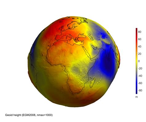 ASU – MATLAB script for 3D visualizing geodata on a