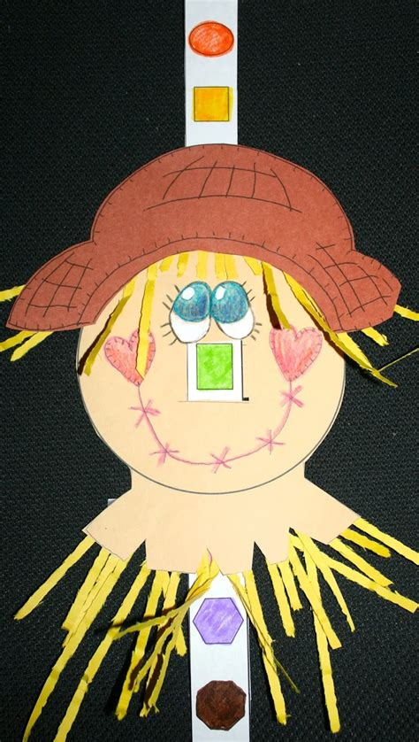 The Scarecrow's Shapely Nose - Classroom Freebies