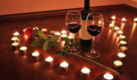 10 tips for a romantic night in | Romantic candles, Wine