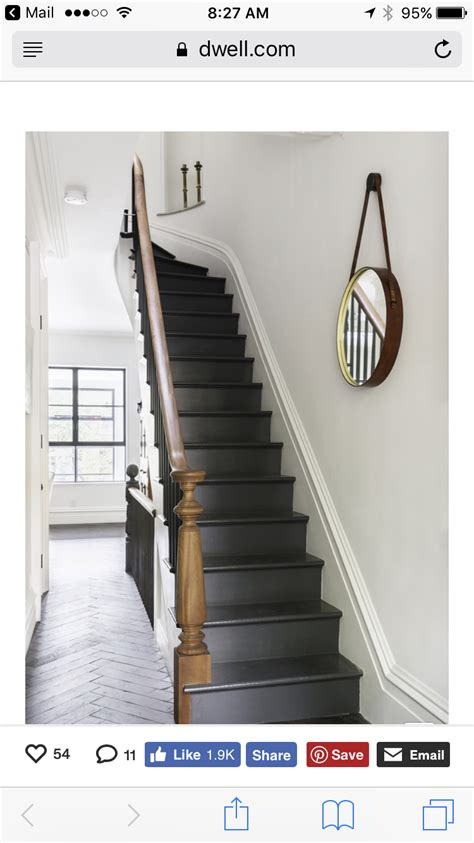 Basement stairs - Charcoal gray treads/risers? (With