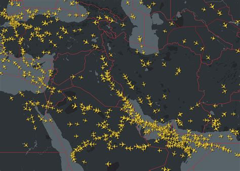 Iran and Iraq airspace restrictions – International Ops