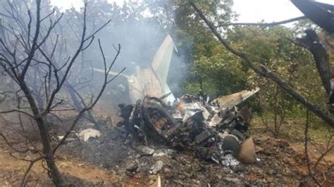 Military Plane Crash: See Photos Of The Pilot And Others