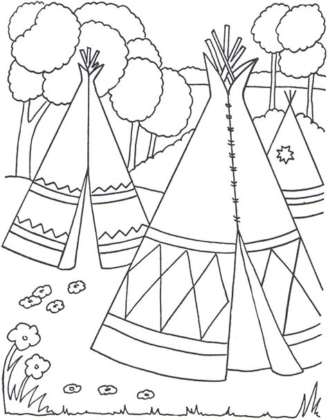 Native American Coloring Pages - Best Coloring Pages For Kids