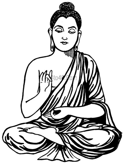 Buddha Coloring Pages - GetColoringPages