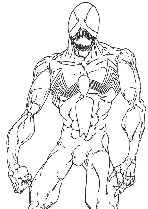 Venom coloring pages | Coloring pages to download and print