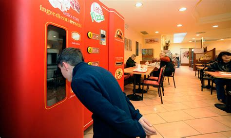 In Italy, a Vending Machine Even Makes the Pizza - The New