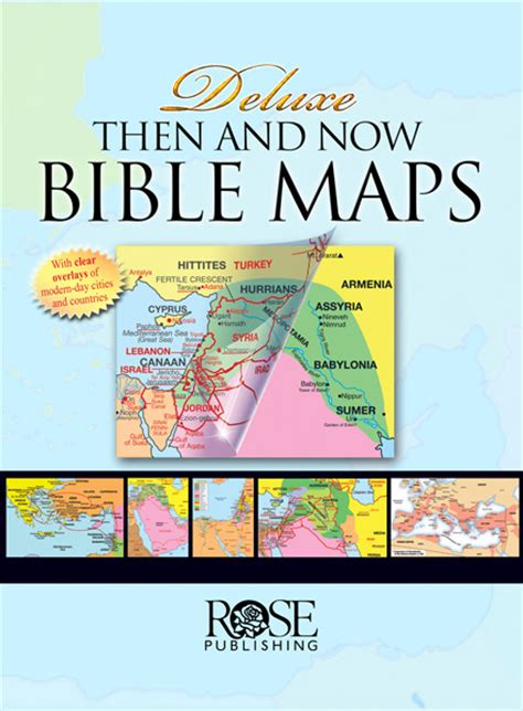 Bible Maps - Then and Now for the Bible Study App, Bible