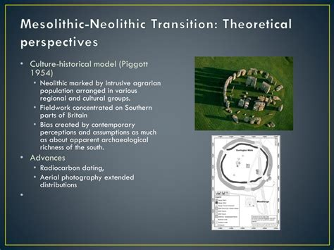 PPT - Mesolithic-Neolithic Transition PowerPoint