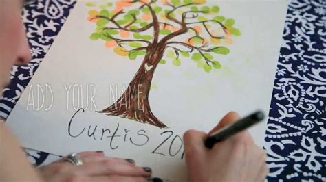 How To Make Family Tree Wall Art With Kids - YouTube