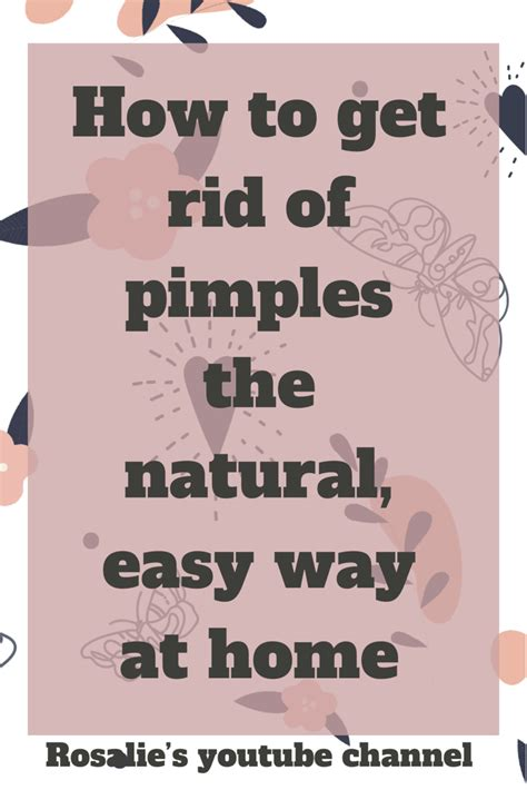 This is a simple, cost free method that helps get rid of
