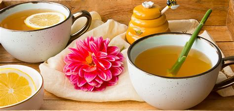 Get Well Tea Featuring Fresh Ginger Root - Deliciously Plated