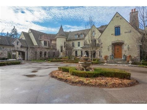 20,000-Square Foot Story Book Castle: West Bloomfield Real