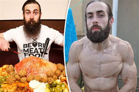 Competitive eating champion gets ripped by gorging on junk