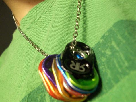 Soda Tab Necklace · A Pop Tab Necklace · Jewelry Making on