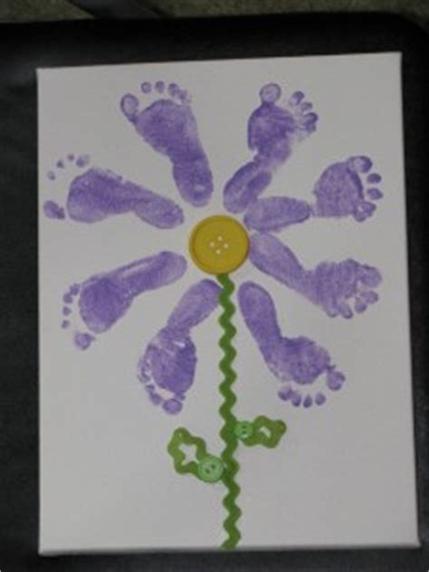 Footprint craft idea for kids   Crafts and Worksheets for