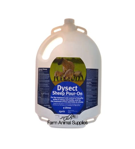 Dysect Pour-On For Sheep 5L | Treatment/Control of blowfly