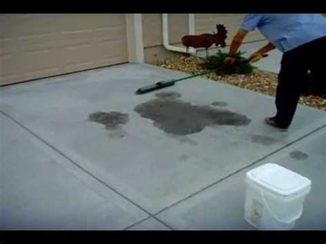 How To Remove Oil Stains From Concrete Driveway - www