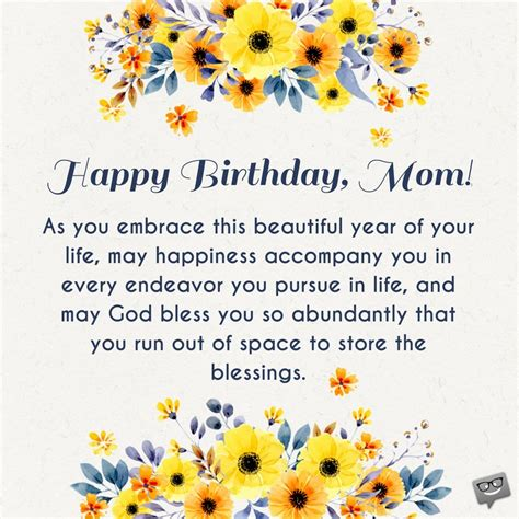 Birthday Prayers for Mothers   Bless you, Mom!