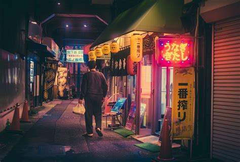 The Magic Of Tokyo Streets At Night In Photos By Masashi