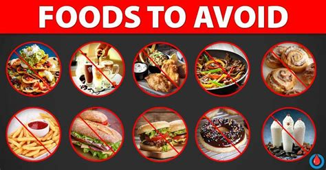 20 Foods to Avoid with Diabetes and High Cholesterol