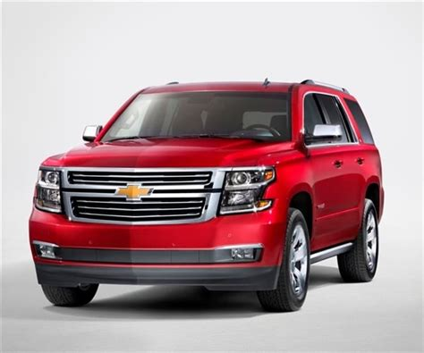 2015 Chevrolet Tahoe and Suburban revealed - Kelley Blue Book