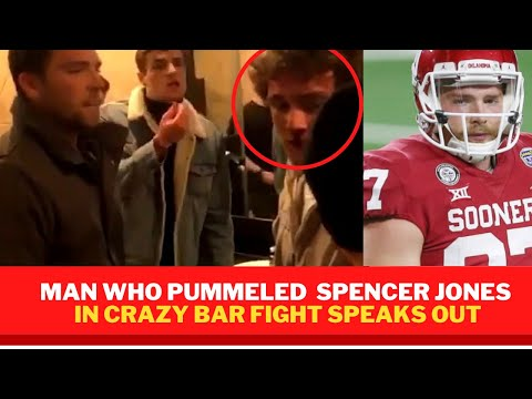 Spencer Jones Oklahoma : If his friend hadn't pushed the