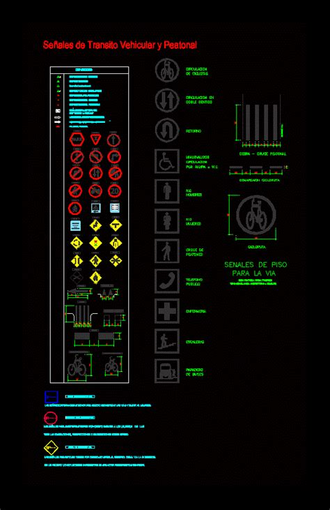 Traffic signals in AutoCAD   Download CAD free (145