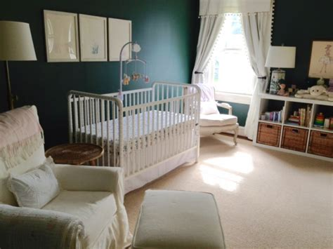Gender Neutral Nursery (with pops of pink for a little