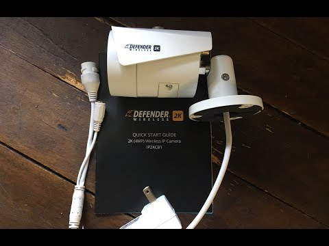 Defender Guard 4MP (2K) Resolution Wi-Fi IP Security