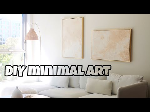 Abstract Contemporary Art Original Painting In Neutral