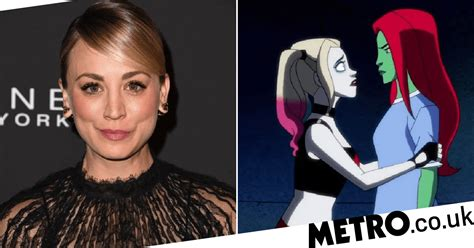 Kaley Cuoco confirms Harley Quinn and Poison Ivy same-sex