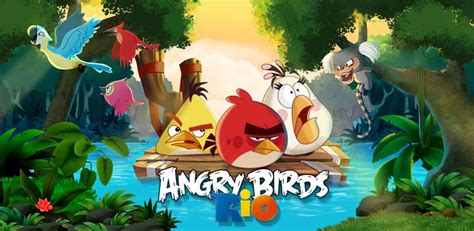 Angry Birds Rio Mod (All levels unlocked) Apk Download