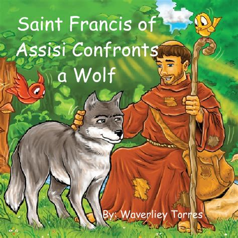 Saint Francis of Assisi Confronts a Wolf   Book 229129