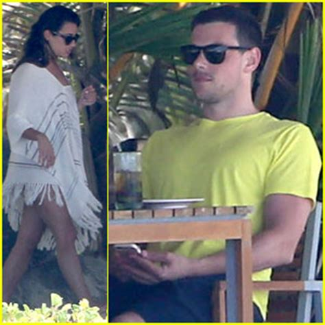 Lea Michele & Cory Monteith Vacation in Mexico! | Cory