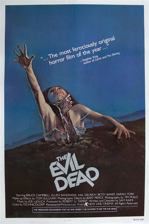 The History of Blood: Bloodworthy Films Post #1: The Evil